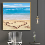 Diy Diamond Painting Embroidery Painting Rhinestones Full Square Painting Wall Picture Home Decor Beach Landscape7.254 6.246