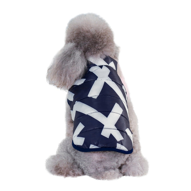 Dog Clothes Winter Coat Jacket Pet Vest Coat Padded Clothes Windproof Puppy Vest Yorkie Chihuahua Clothes Wholesale Pet Clothing