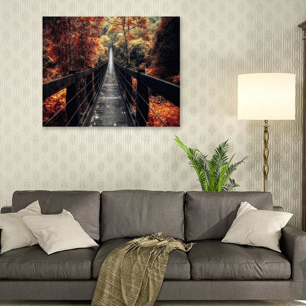 Drawbridge Painting Canvas Art Print Wall Picture And Posters Modern Single Painting Without Frame Home Decor