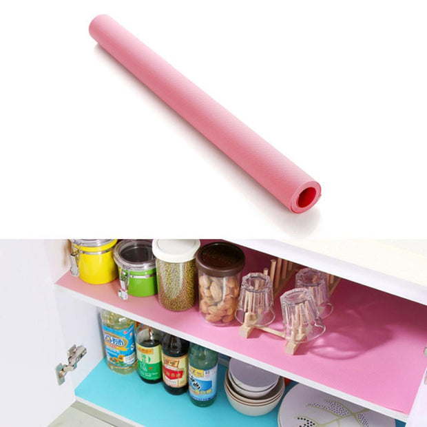 EVA Non-adhesive Cupboard Cabinet Shelf Drawer Cupboard, Cabinet, Shelf, Solid Liner Non-slip Table Cover Mat