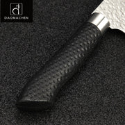 Export Quality Japanese Kitchen Knife 8 Inch Chef Knife Black Handle Stainless Steel Meat Cleaver Filleting Knives Kitchen