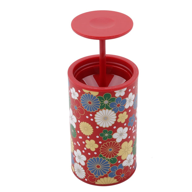 Fashion Flower Patterns Creative Toothpick Box High-grade Household Portable Toothpick Holder Automatic Toothpick Box 773626