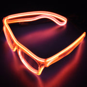 Flashing EL Wire New Fashion Led Glasses Luminous Party Decorative Lighting Classic Gift Bright Light Festival Macka