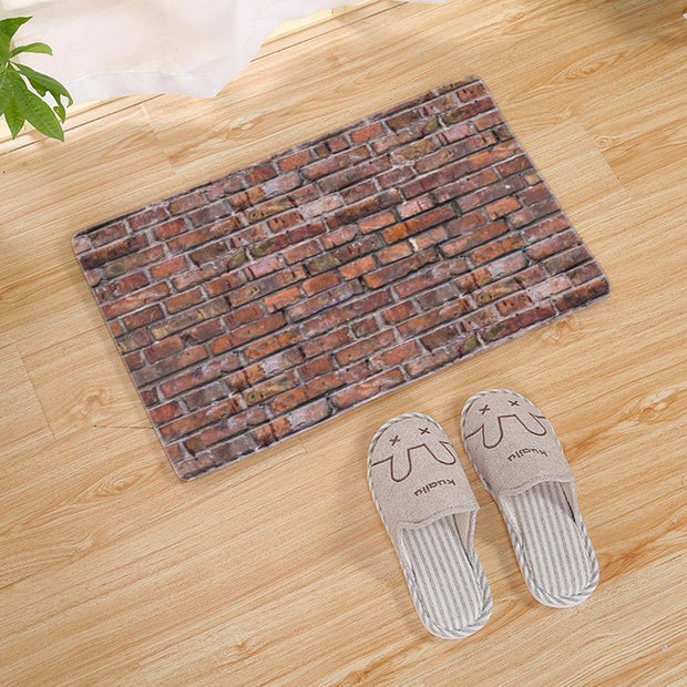 Floor Soft Type 9 Living Print Anti-Skid 1 Stone Etc Type Rug Decoration Home Home Square Carpet Bedroom Room Mat
