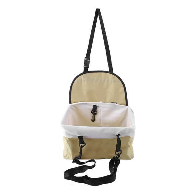 Foldable Oxford Pet Cat Dog Booster Car Seat Carrier Carry Storage Bag Seat Cover Bucket Basket Dog Accessories