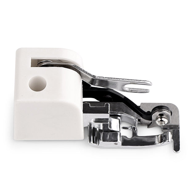 For All Low Shank Stainless Steel Side Cutter Overlock Sewing Machine Presser Feet Sewing Machine Attachment