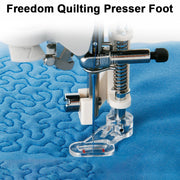 Freedom Quilting Embroidery Presser Foot Flower Stitch Domestic Multifunction Sewing Machine Low Shank Singer Brother Babylock