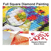 Full 5D DIY Embroidery Diamond Painting Square Drill Flower Gift Needlework Decoration Arts Crafts&Sewing Cross Stitch Crpsen