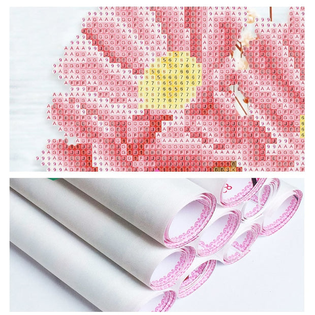 Full 5D DIY Embroidery Diamond Painting Square Drill The Glass Gift Needlework Home Decoration Crafts&Sewing Cross Stitch Crpsen