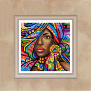 Full,Diamond Embroidery,African Woman,5D,Diamond Painting,Cross Stitch,Special Diamond Mosaic,Needlework,Craft,Christmas,Gift