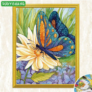 Full Square 5D DIY Diamond Painting Animals Butterflies Diamond Embroidery Sale Flowers Mosaic Rhinestones Painting Home Decor