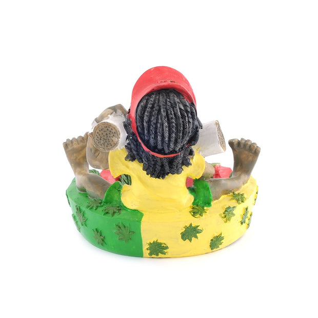 Fun Creative Design Cartoon Smoking Ashtray Punk Style Home Office Decoration Washable Cigar Ashtray Family Christmas Gift Craft