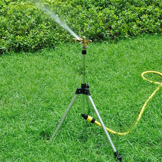 Garden Irrigator 4 Point Connector 360 Rotate Rocker Arm Water Sprinkler Spray Nozzle Watering Farm Rotating Sprinkler