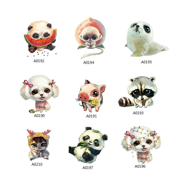 Gernro Free Shipping 1 Set 9 PCS Brooch Badges On Backpack Student Icons For Clothes Pin Badge