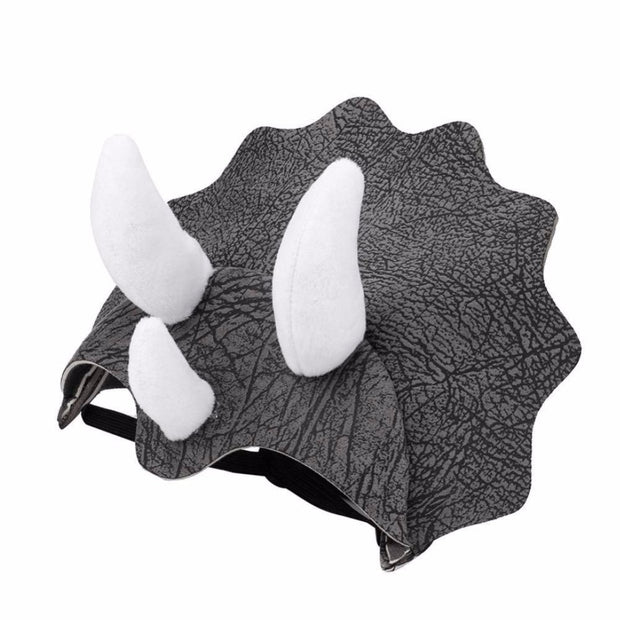 Gomaomi Pet Hat Dinosaur Headgear Cosplay Hat Dog Adjustable Buckle Costume Festival Dog Costume Rubber Band