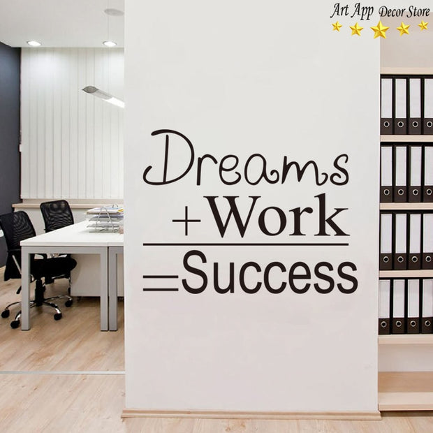 Good Quality Art New Design House Decor Vinyl Work Wall Decals Removable Home Decoration Quote Room Sticker