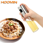 HOOMIN Oil Sprayer Stainless Steel Can Cookware Cooking Tools Pump Spray