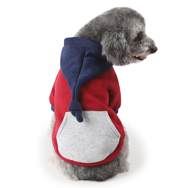 HOT Puppy Pet Dog Cat Clothes Hoodie Winter Warm Sweater Coat Costume Apparel Puppy Clothes Dog Hoodie Dog Costume For Baby