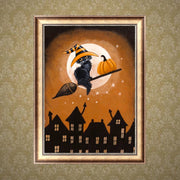 Halloween 5D Diamond Painting DIY Embroidery Cross Stitch Home Decor Crafts Kits
