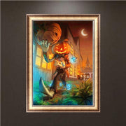 Halloween 5D Full Diamond Painting DIY Embroidery Cross Stitch Home Decor Crafts