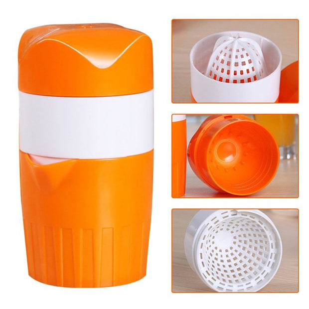 Hand Press Orange Juicer Lemon Squeezer Mini Fruit Bottle Cup Household Extractor Kitchen Accessories Manual Juicer