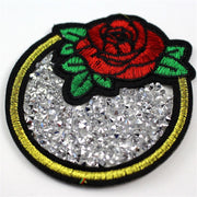 High-grade Badge Nail Bead Embroidery Cloth Paste