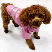 Hooded Reflective Strip Pet Clothes Small Medium Waterproof Dog Raincoat Puppy Hooded