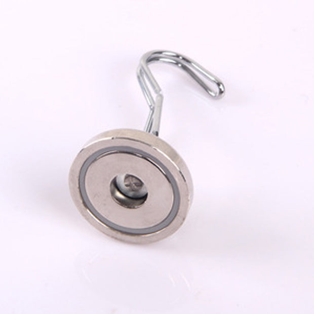 Hot Sale Diameter 25mm Rotary Hook Strong Magnetic Hook Magnetic Suction Magnet Super Flexible Rotatable Magnet Hook