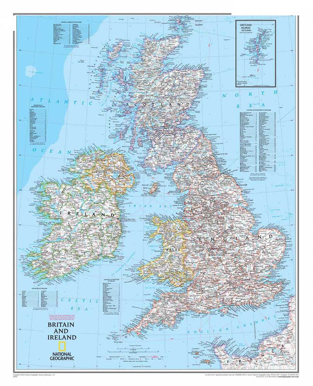 "Hot Sale RM-DT-064 ""Britain And Ireland Map"" Wall Oil Painting On Canvas Wall Pictures For Living Room Cuadros Decoration Poster"