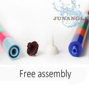 JU 1pcs Fish Tank Accessories Air Stone Connection Air Pump Free Assembly Oxygen Increase Oxygen Aquarium Accessories