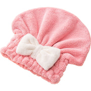Japanese Polyester Cotton Women Bathroom Super Absorbent Quick-drying Hair Towel Hair Dry Cap Salon Towel 26x27cm