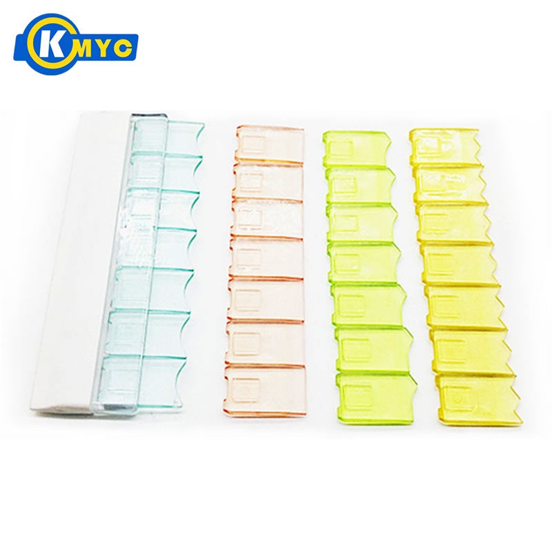 Kmyc Plastic 29pcs Cake Scraper Fondant Icing Smoother Bench Scraper Multifunctional Cake Decorating Tool Baking Supplies