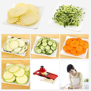 Kitchen Multi-function Shredder Home Shredded Sliced Garlic Manual Radish Potato Cucumber Fruit And Vegetable Cutting Board