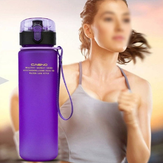 Leak Proof Sports Water Bottle High Quality Tour Hiking Portable Bottles 400ml 560ml BPA Free