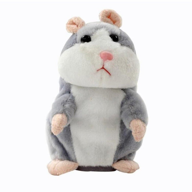 Lovely Talking Hamster Mouse Pet Speak Sound Record Hamster Educational Plush Toy For Children Christmas Gift Christmas Toys