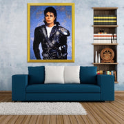 Michael Jackson Poster Blue Background 5D DIY Diamond Painting Full Square Diamond Embroidery Mosaic Crystals Painting Handwork