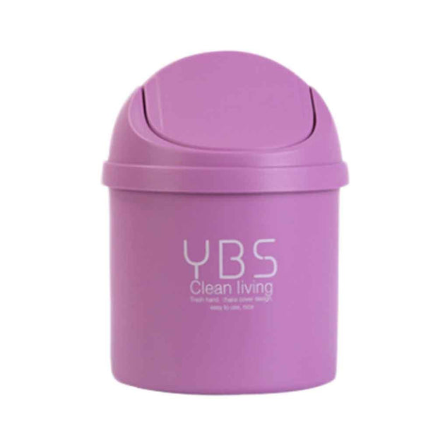 Mini Table Dustbin Sundries Car Garbage Can Desktop Trash Dust Case Holder Bin Trash Can Debris Storage Clean Bucket