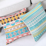 Modern Fashion Geometric Cotton Pillowcase Nordic Design Cushion Home Decorative Pillows For Sofa Luxury Geometric Cushions