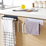Modern Style Towel Bar Holder Over The Kitchen Cabinet Cupboard Door Shelf Rack Hanging Storage Holders Racks