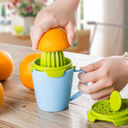 Multi-function Plastic Manual Fruit Juice Extractor Squeezer Juicers Juice Cup