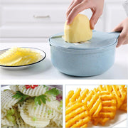 Multifunctional Vegetable Shredder Slicers Manual Cutter Slicer Straw Kitchen Gadgets Cheese Potato Carrot Graters Kitchen Tools