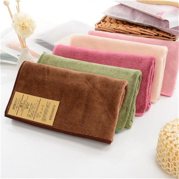 New 2017 Solid Color Absorbent Bath Towel -- 85*34 Cm Microfiber Bathe Towel Quick-Drying Beach Towels Swimming Spa Towel Adult