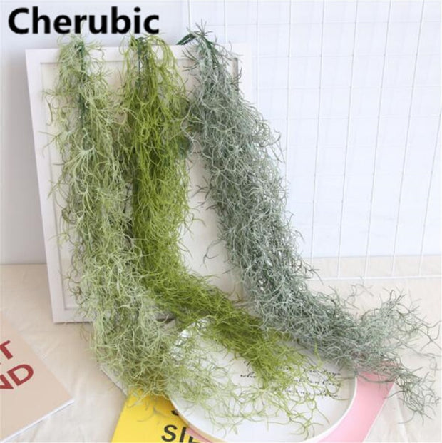 New Arrival Hanging Vines Succulents Artificial Flowers Home Decorating Wedding Plants Wall Fake Plants Artificiales Plant