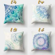 New Arrivals Bohemian Boho Cover Decorative Pillowcase Floral Cushion Pillow Case 45*45cm Neck Travel Pillow Cover Dropshipping