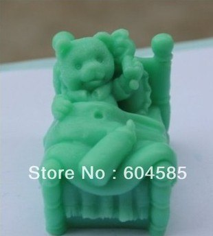 New Baby Bear S0210 Craft Art Silicone Soap Mold Craft Molds DIY Candle Molds