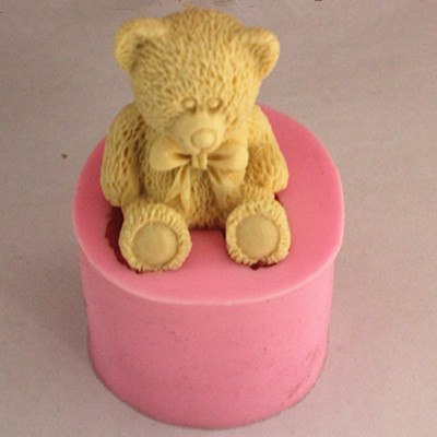 New Baby Bear ApCraft Art Silicone Soap Mold Craft Molds DIY Handmade Soap Molds