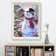 New Christmas Snowman Pattern Canvas Painting Print Picture Indoor Decoration Home Wall Modern Art Decor