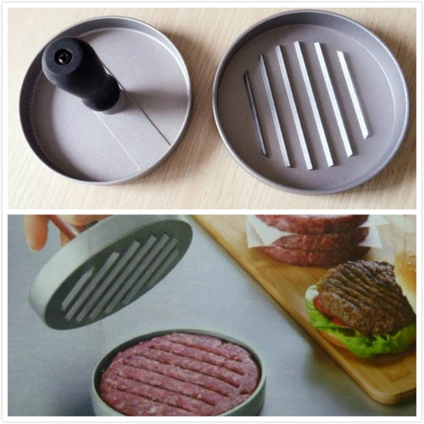 New Convenient Hamburger Presses High Quality Washable Meat Pie Patties Maker Meat Press Barbecue Pan