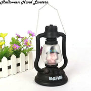 New Fashion Halloween Lantern Party Home Decors Simulation Lamp Battery Flame Candle Lights Festival Lantern
