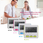 New Multifunctional Practical Kitchen Timer Alarm Clock Home Cooking Supplies Cook Food Tools Kitchen Accessories Drop Shipping